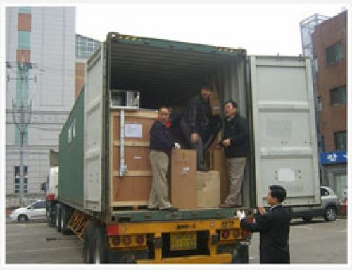 [2006~2009] Shipping operations medical equipment, support